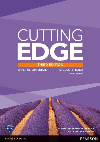 Cutting Edge 3rd Edition Upper Intermediate Students' Book and DVD Pack - Cutting Edge