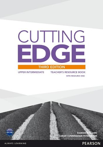Cutting Edge 3rd Edition Upper Intermediate Teacher's Book and Teacher's Resource Disk Pack - Cutting Edge