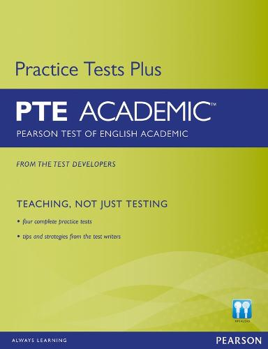 Pearson Test of English Academic Practice Tests Plus and CD-ROM without Key Pack - Practice Tests Plus