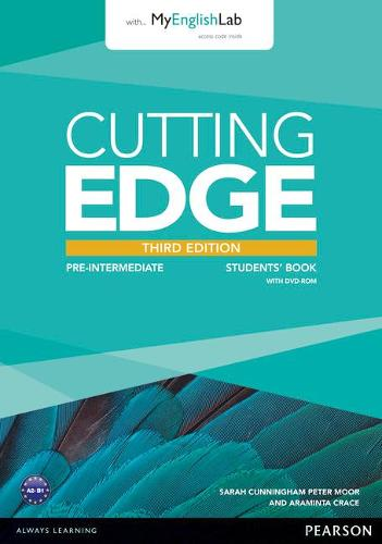 Cutting Edge 3rd Edition Pre-Intermediate Students' Book with DVD and MyEnglishLab Pack - Cutting Edge