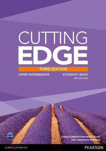 Cutting Edge 3rd Edition Upper Intermediate Students' Book with DVD and MyEnglishLab Pack - Cutting Edge