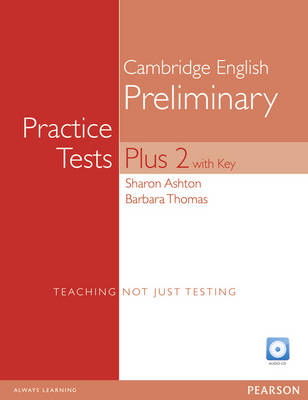 ZZ:PET Practice Tests Plus 2 Bk with key and iTest Voucher pack - Practice Tests Plus