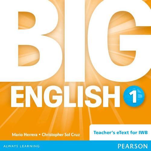 Big English 1 Teacher's eText: Big English 1 Teacher's eText CD-Rom 1 - Big English (CD-ROM)