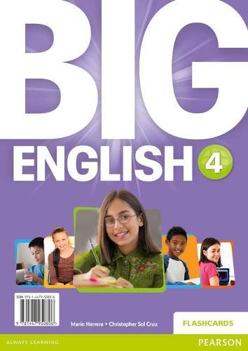 Big English 4 Flashcards - Big English