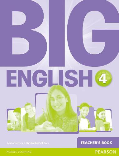 Big English 4 Teacher's Book - Big English (Spiral bound)