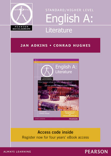 Pearson Baccalaureate English A: Literature ebook only edition for the IB Diploma (etext) - Pearson International Baccalaureate Diploma: International Editions