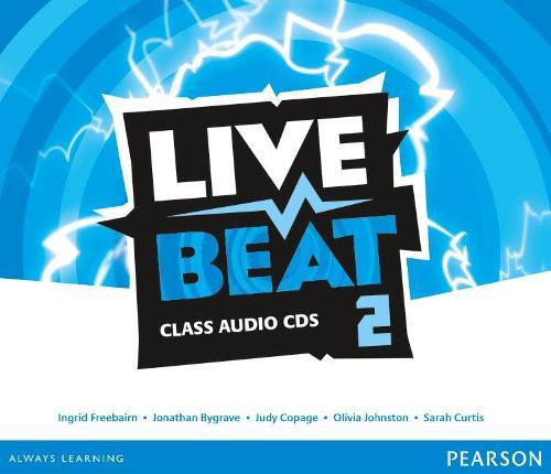 Live Beat 2 Class Audio CDs - Upbeat (CD-Audio)