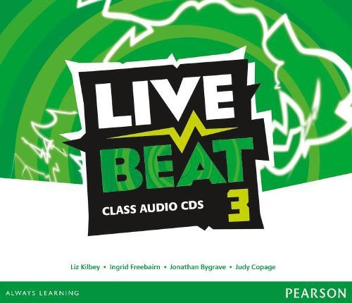 Live Beat 3 Class Audio CDs - Upbeat (CD-Audio)