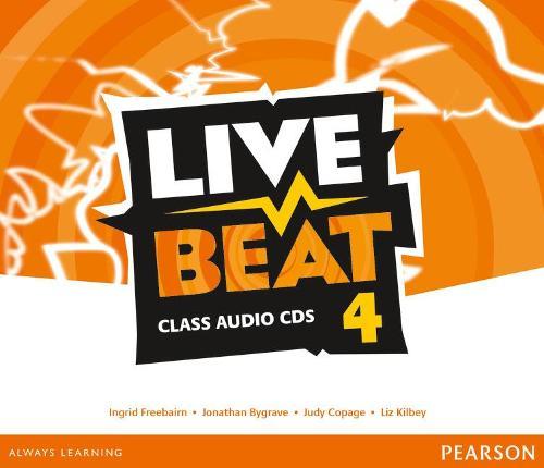 Live Beat 4 Class Audio CDs - Upbeat (CD-Audio)