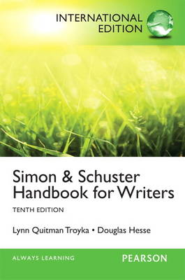 Handbook for Writers, plus MyWritingLab with Pearson eText