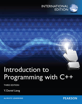 Introduction to Programming with C++, plus MyProgrammingLab with Pearson eText