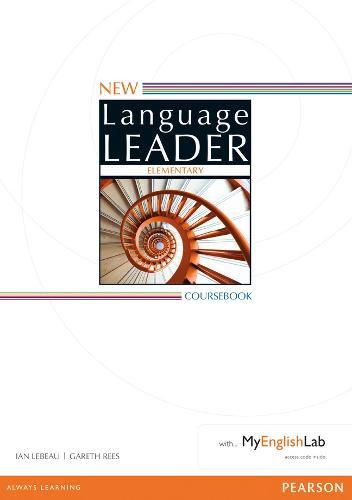 New Language Leader Elementary Coursebook with MyEnglishLab Pack - Language Leader