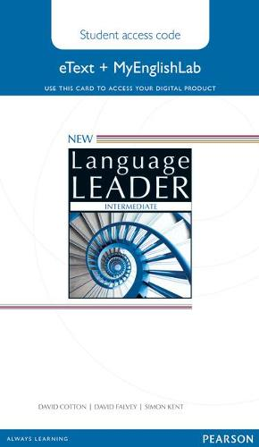 New Language Leader Intermediate eText Access Card with MyEnglishLab Pack - Language Leader (Digital product license key)