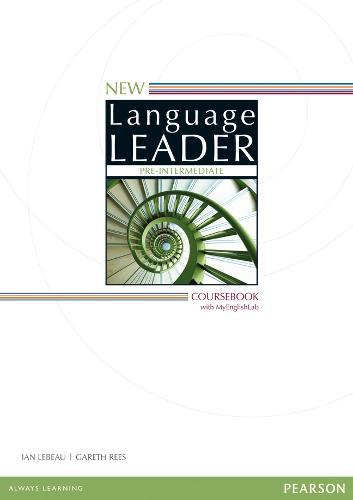 New Language Leader Pre-Intermediate Coursebook with MyEnglishLab Pack - Language Leader