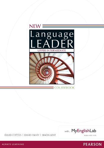 New Language Leader Upper Intermediate Coursebook with MyEnglishLab Pack - Language Leader