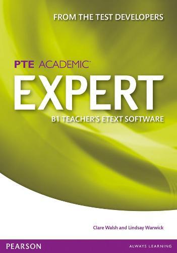 Expert Pearson Test of English Academic B1 eText Teacher's CD-ROM - Expert (CD-ROM)