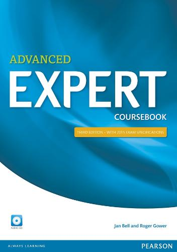 Expert Advanced 3rd Edition Coursebook with CD Pack - Expert