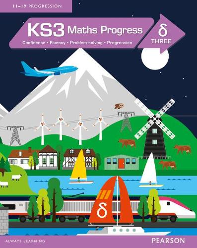 KS3 Maths Progress Student Book Delta 3 - Maths Progress (Paperback)