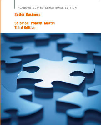 Better Business Pearson New International Edition, plus MyBizLab without eText