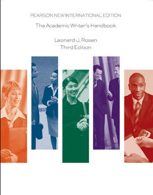 Academic Writer's Handbook Pearson New International Edition, plus MyCompLab without eText