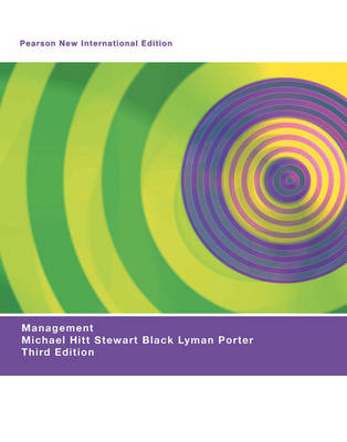 Management Pearson New International Edition, plus MyManagementLab without eText