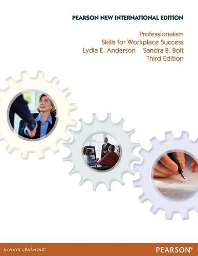 Professionalism Pearson New International Edition, plus MyStudentSuccessLab without eText