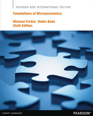 Foundations of Microeconomics Plus MyEconLab without eText