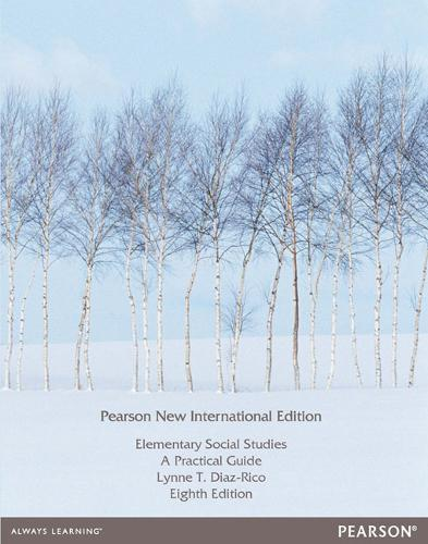 Elementary Social Studies Pearson New International Edition, plus MyEducationLab without eText