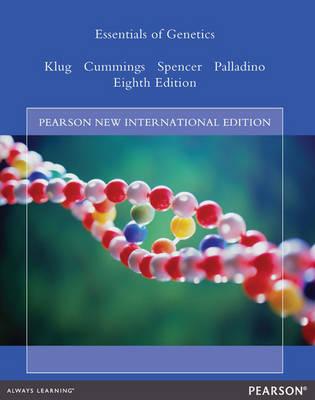 Essentials of Genetics Pearson New International Edition, plus MasteringGenetics without eText