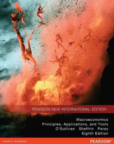 Macroeconomics Pearson New International Edition, plus MyEconLab without eText
