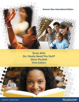 Study Skills Pearson New International Edition, plus MyStudentSuccessLab without eText