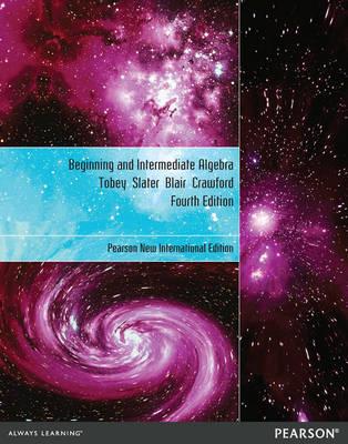 Beginning & Intermediate Algebra Plus MyMathLab without eText