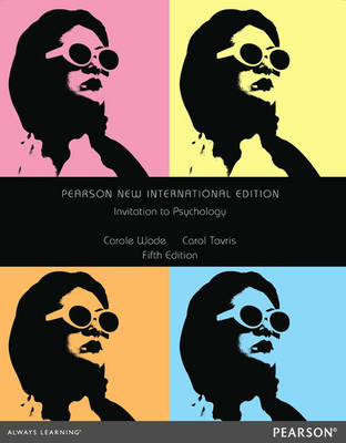Invitation to Psychology Pearson New International Edition, plus MyPsychLab without eText