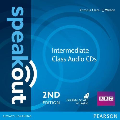 Speakout Intermediate 2nd Edition Class CDs (2) - speakout (CD-Audio)
