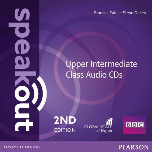Speakout Upper Intermediate 2nd Edition Class CDs (2) - speakout (CD-Audio)