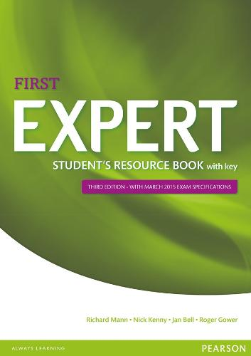 Expert First 3rd Edition Student's Resource Book with Key - Expert (Paperback)