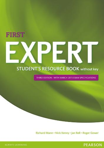 Expert First 3rd Edition Student's Resource Book without Key - Expert (Paperback)