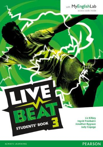 Live Beat 3 Student Book & MyEnglishLab Pack - Upbeat