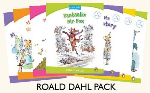 Roald Dahl Kids Pack - Penguin Kids (Graded Readers) (Paperback)