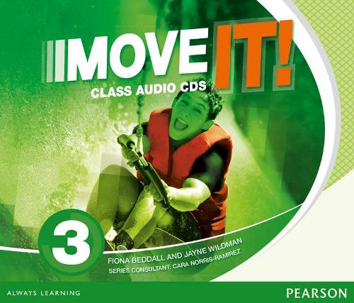 Move It! 3 Class CDs - Next Move (CD-Audio)