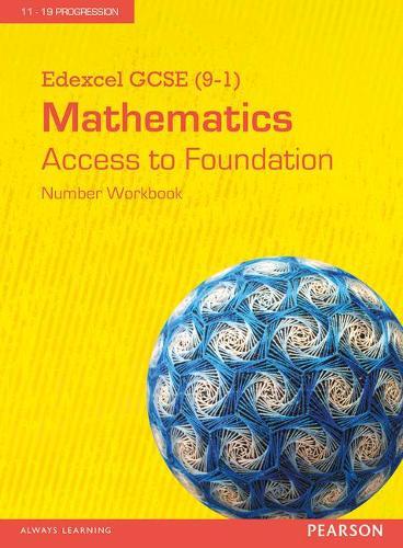 Edexcel GCSE (9-1) Mathematics - Access to Foundation Workbook: Number (Pack of 8) - Edexcel GCSE Maths 2015
