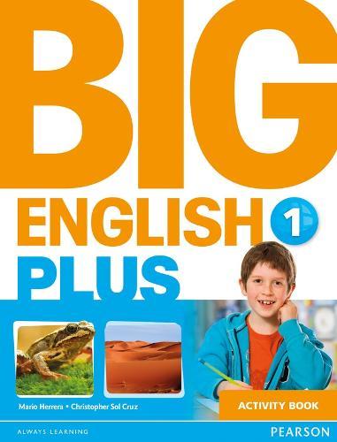 Big English Plus 1 Activity Book - Big English (Paperback)