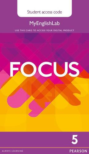Focus BrE 5 MyEnglishLab Student's Access Card - Focus (Digital product license key)