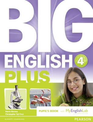 Big English Plus 4 Pupils' Book with MyEnglishLab Access Code Pack - Big English
