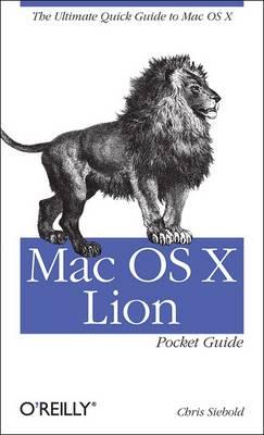 Mac OS X Lion Pocket Guide (Paperback)