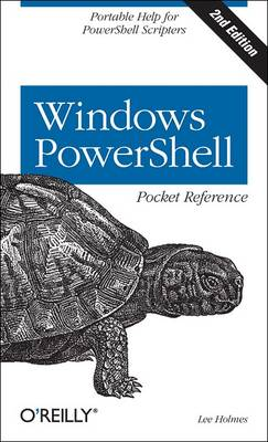 Windows PowerShell Pocket Reference (Paperback)