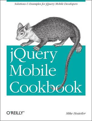 JQuery Mobile Cookbook (Paperback)