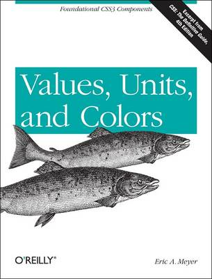 Values, Units, and Colors (Paperback)