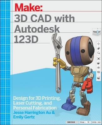 3D CAD with Autodesk 123D (Paperback)