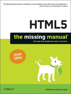HTML5: The Missing Manual - The Missing Manuals (Paperback)